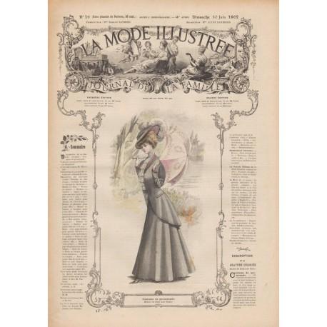 Revue complète de La Mode Illustrée 1907 N°26