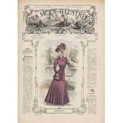 Revue complète de La Mode Illustrée 1907 N°30