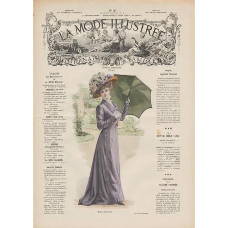 Revue complète de La Mode Illustrée 1909 N°26