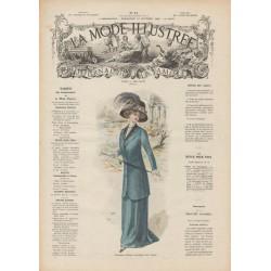 magazine La Mode Illustrée 1909 N°41