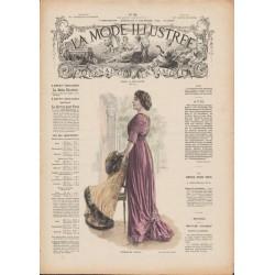 magazine La Mode Illustrée 1909 N°50