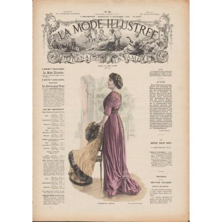 Revue La Mode Illustrée 1909 N°50