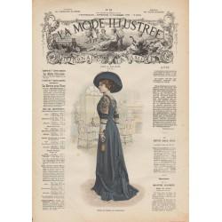 Complete magazine La Mode Illustrée 1909 N°52