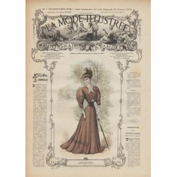 Complete magazine La Mode Illustrée 1906 N°07