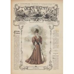 Revue complète de La Mode Illustrée 1906 N°07