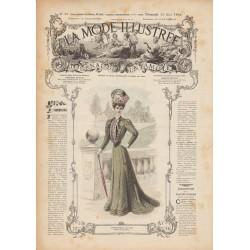 magazine La Mode Illustrée 1906 N°20