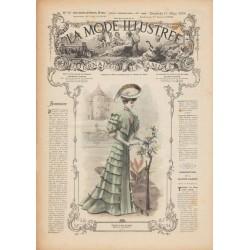 magazine La Mode Illustrée 1906 N°10
