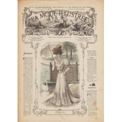 magazine La Mode Illustrée 1906 N°30