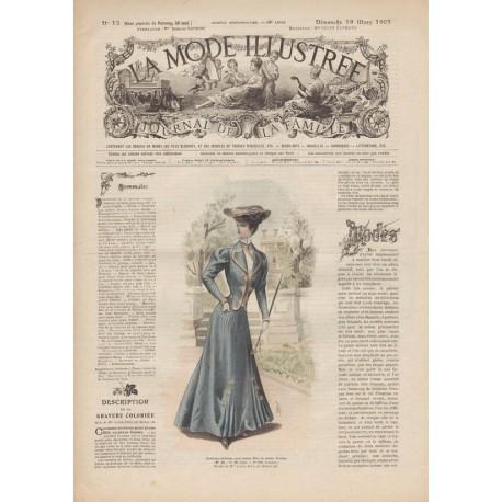 Complete magazine La Mode Illustrée 1905 N°12