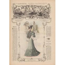 Complete magazine La Mode Illustrée 1905 N°20