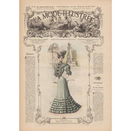 corset mode 1905