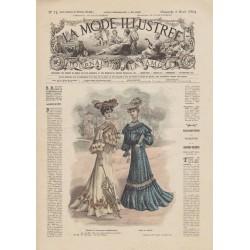 Complete magazine La Mode Illustrée 1904 N°14