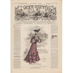 Complete magazine La Mode Illustrée 1904 N°16