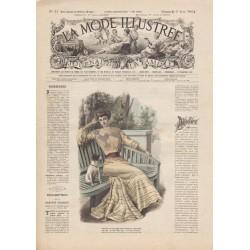 Complete magazine La Mode Illustrée 1904 N°23