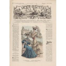 Complete magazine La Mode Illustrée 1904 N°27