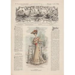Revue complète de La Mode Illustrée 1904 N°29