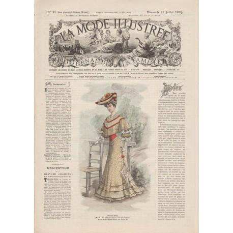 Complete magazine La Mode Illustrée 1904 N°29
