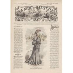 Revue complète de La Mode Illustrée 1904 N°33
