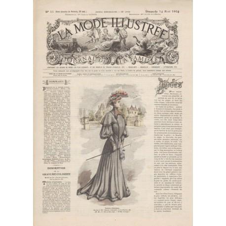 Complete magazine La Mode Illustrée 1904 N°33
