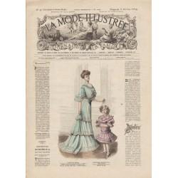 Revue complète de La Mode Illustrée 1904 N°40