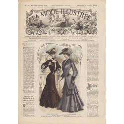 Revue complète de La Mode Illustrée 1904 N°42