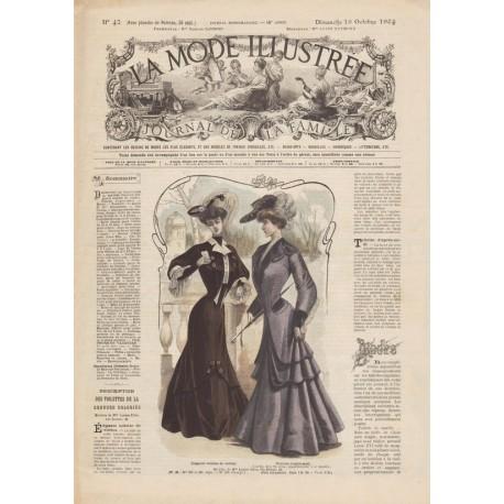 Complete magazine La Mode Illustrée 1904 N°42