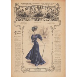 Revue complète de La Mode Illustrée 1907 N°02