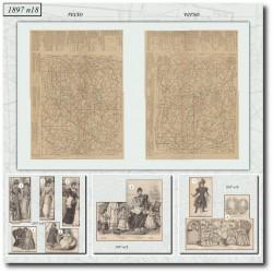 Sewing patterns La Mode Illustrée 1897 N°18