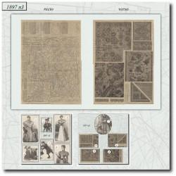 Sewing patterns La Mode Illustrée 1897 N°03