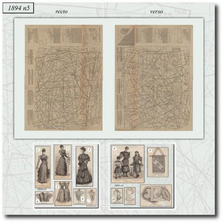 Patron-amazone-robe-victorienne-1894-5