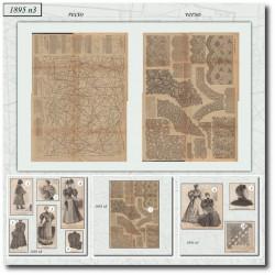 Sewing patterns La Mode Illustrée 1895 N°03
