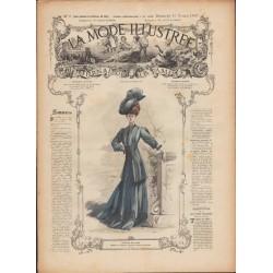 Complete magazine La Mode Illustrée 1907 N°06