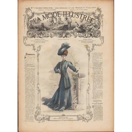 Revue complète de La Mode Illustrée 1907 N°06