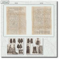 Sewing patterns La Mode Illustrée 1878 N°09