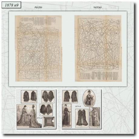Sewing patterns-oldfashion-La Mode Illustrée-1878-09