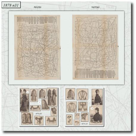 Patrons lingerie-de La Mode Illustrée 1878-31