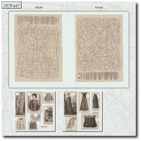 La Mode Illustrée 1879 N°47