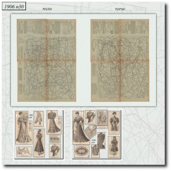 Sewing patterns La Mode Illustrée 1906 N°30