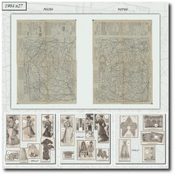 Sewing patterns La Mode Illustrée 1904 N°27