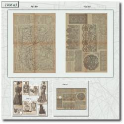 Revue La Mode Illustrée 1906 N°3