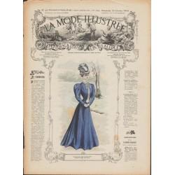 Complete magazine La Mode Illustrée 1906 N°43