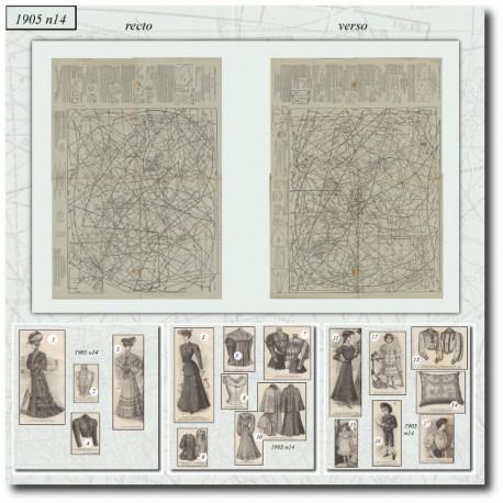 Sewing patterns-dress-bolero-1905-14