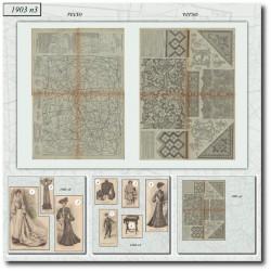 Sewing patterns La Mode Illustrée 1903 N°3