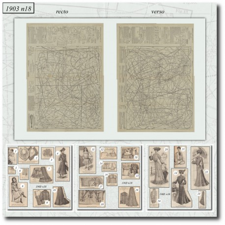 Patrons-robe-jupon-chemise-corset-1903-18