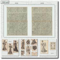 Patrons de La Mode Illustrée 1903 N°44