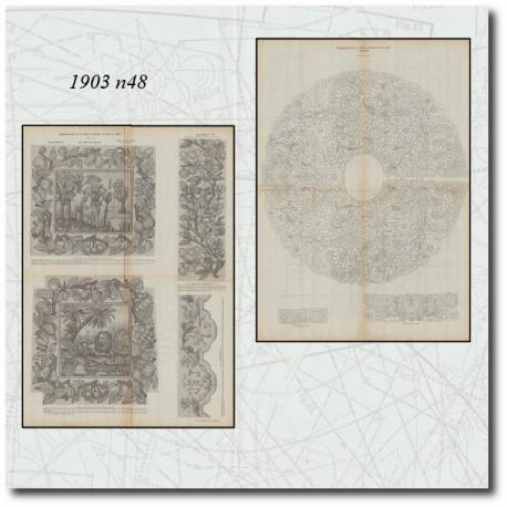 Patrons de La Mode Illustrée 1903 N°48