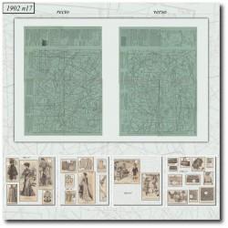 Sewing patterns La Mode Illustrée 1902 N°17