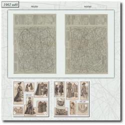 Sewing patterns La Mode Illustrée 1902 N°40
