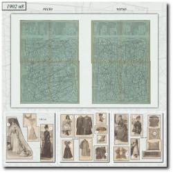 Sewing patterns La Mode Illustrée 1902 N°8