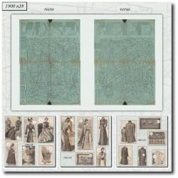 Sewing patterns La Mode Illustrée 1900 N°38